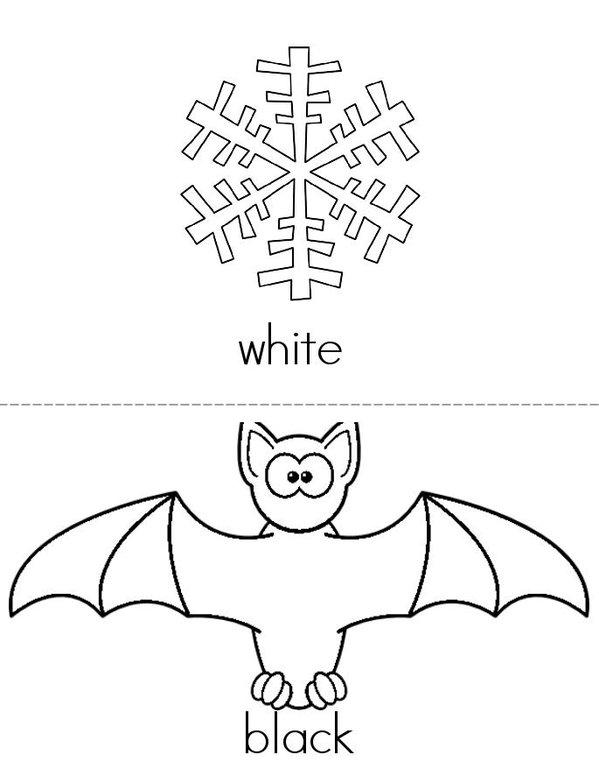 Colors Mini Book - Sheet 5