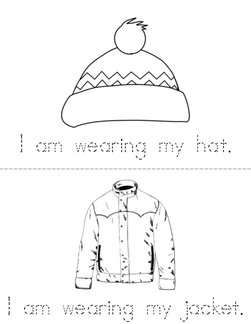 Winter Clothes Book