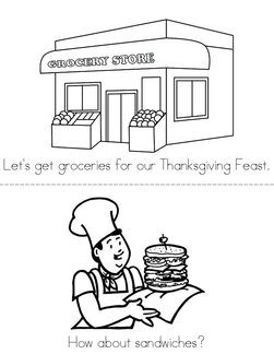 Thanksgiving Feast Book