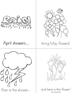 April Flowers Bring May Flowers Book