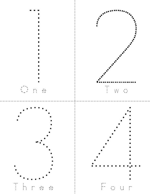 graphic relating to Printable Numbers 0-9 named Quantity Phrases 0-9 Guide - Twisty Noodle