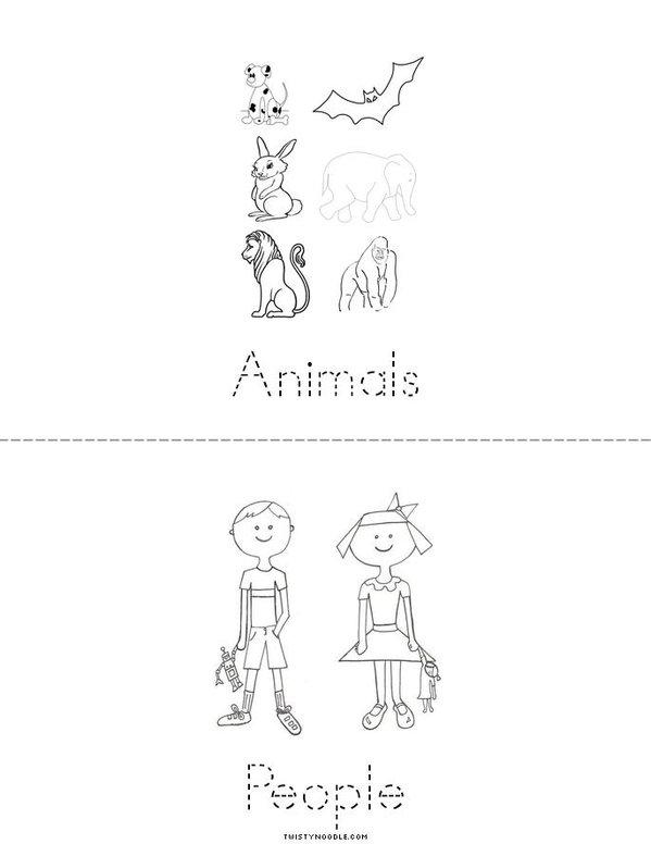 Earth Day Mini Book - Sheet 3