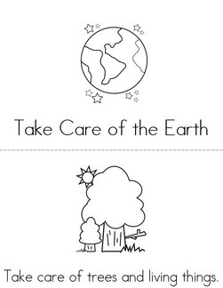 Take care of our Earth Book