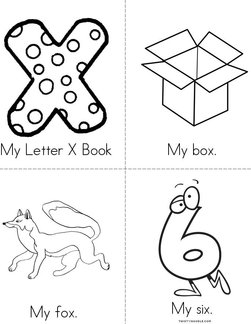 My Letter X Book
