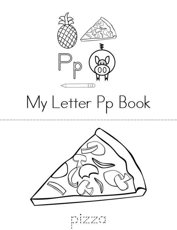 p book Mini Book - Sheet 1