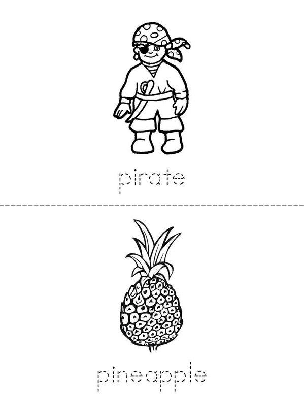 p book Mini Book - Sheet 3