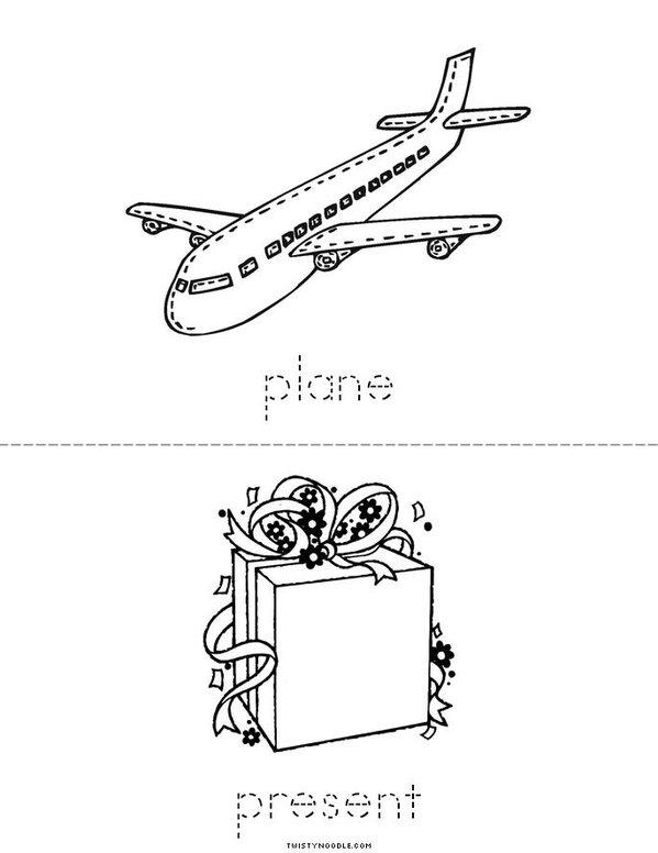 p book Mini Book - Sheet 4