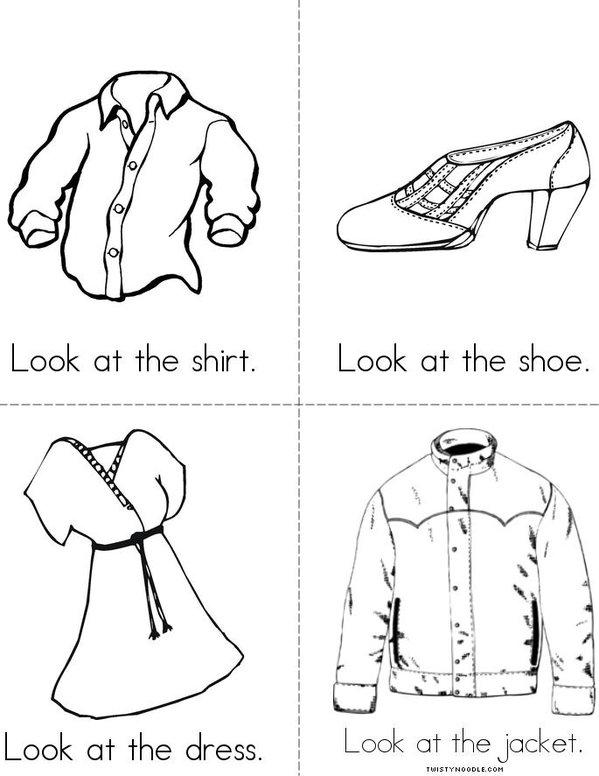 Look (clothes) Mini Book