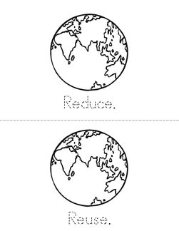 Three R's for Earth Day! Book