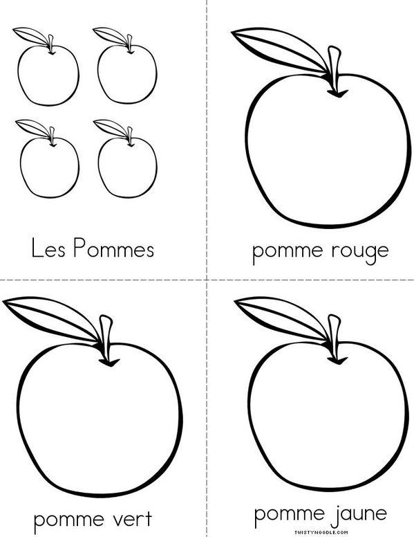 Les Pommes Mini Book