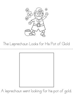 The Leprechaun Looks for His Gold Book