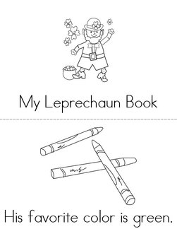 My Leprechaun Book
