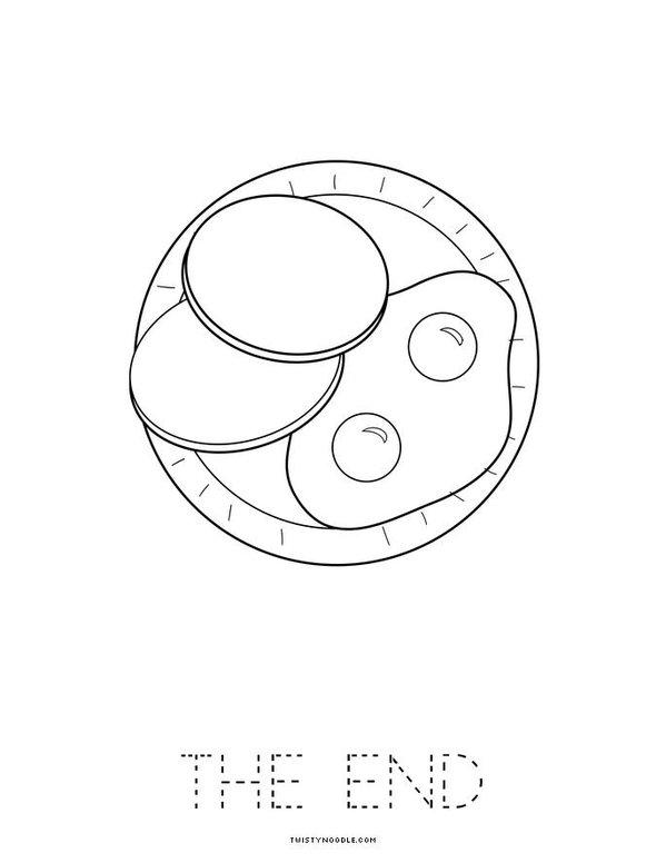 Green Eggs and Ham Mini Book - Sheet 8