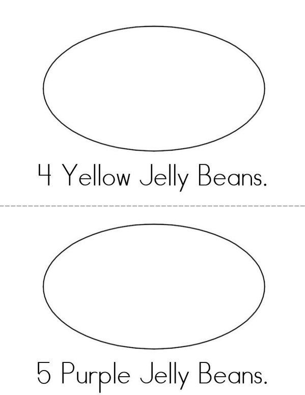 My Jelly Bean Book Mini Book - Sheet 3