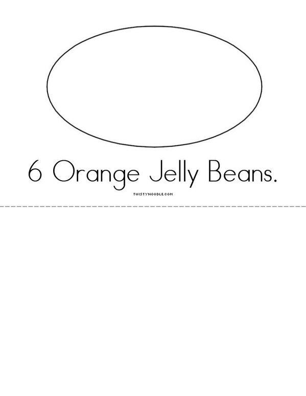 My Jelly Bean Book Mini Book - Sheet 4