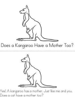 Does A Kangaroo Have A Mother Too? Book