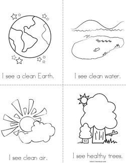 I see a clean Earth! Book