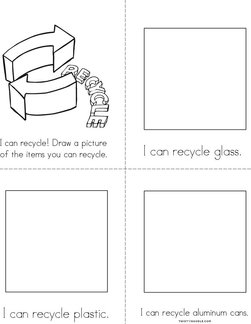 I can recycle! Book