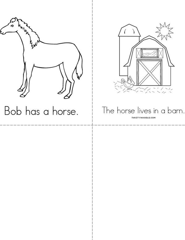 This is Bob Mini Book - Sheet 2