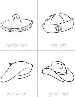 Colorful Hats Book
