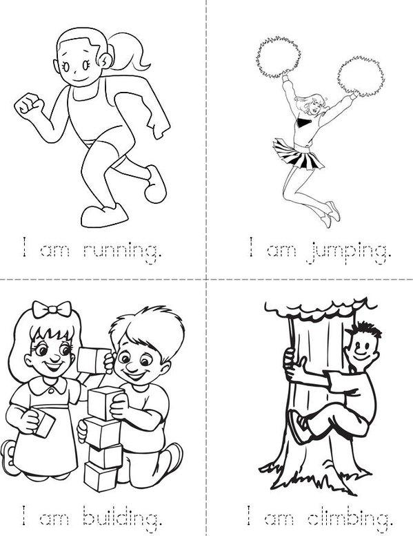I am Mini Book - Sheet 1