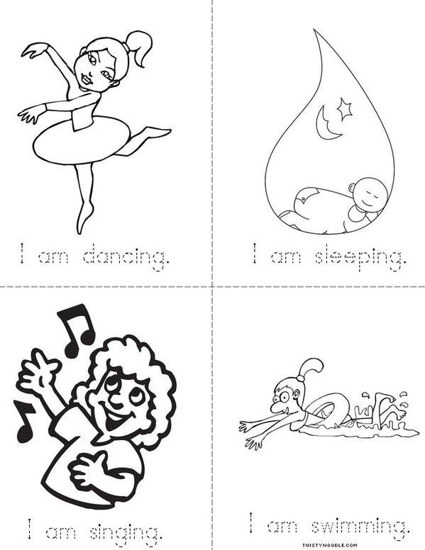 I am Mini Book - Sheet 2
