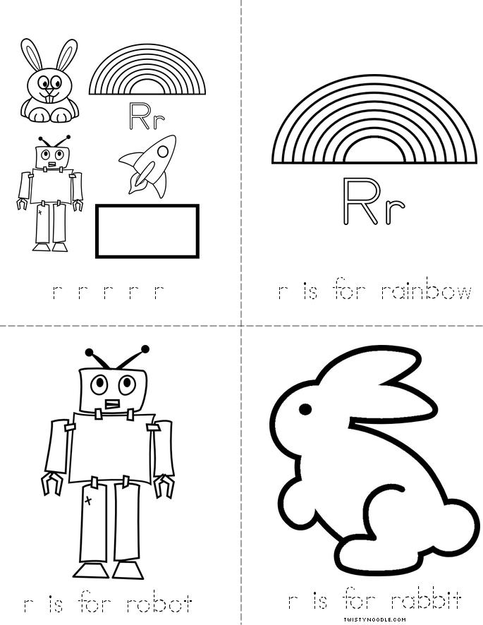 letter book Rr.pdf | Letter R | Pinterest | Alphabet book ...