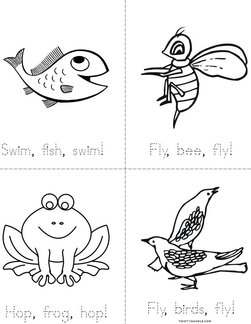 Swim, Fish, Swim! Book