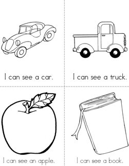 picture relating to Sight Word Printable Books identified as Sight term: Perspective Guides - Twisty Noodle