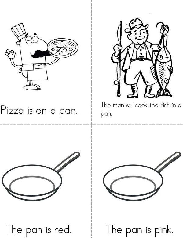My pan book  Mini Book - Sheet 2