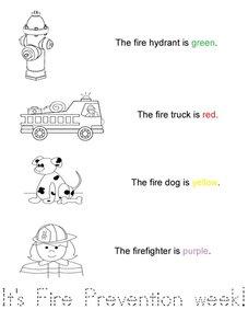 Fire Prevention Week Book