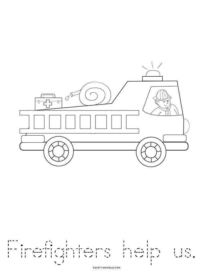 Fire Prevention Week 2017 Coloring Pages  Coloring Pages