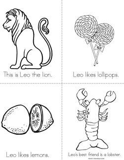 Leo the Lion Book