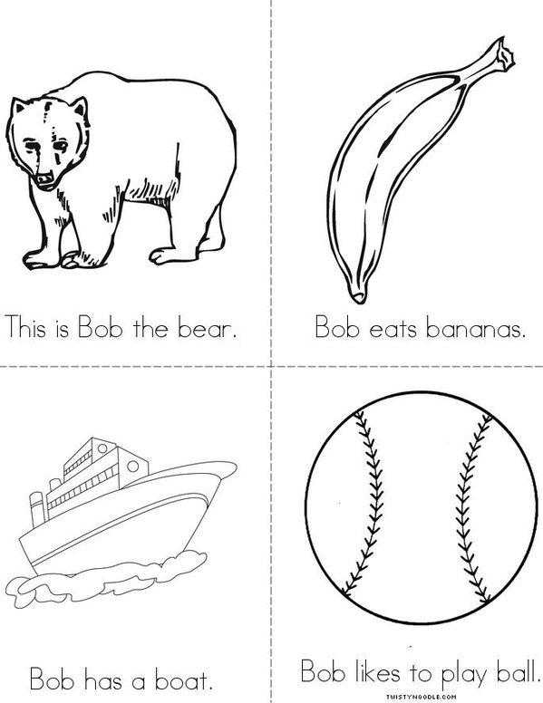 Bob the Bear Mini Book