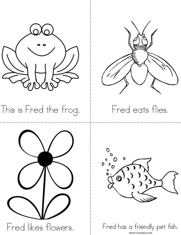 Fred the Frog Mini Book