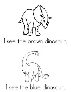 I See A Dinosaur Book