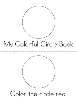 Color the Circles Book