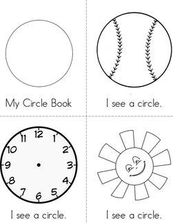 I See a Circle! Book