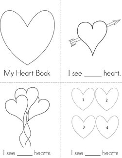 Count the Hearts Book