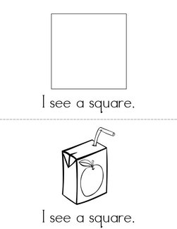 I See Squares! Book