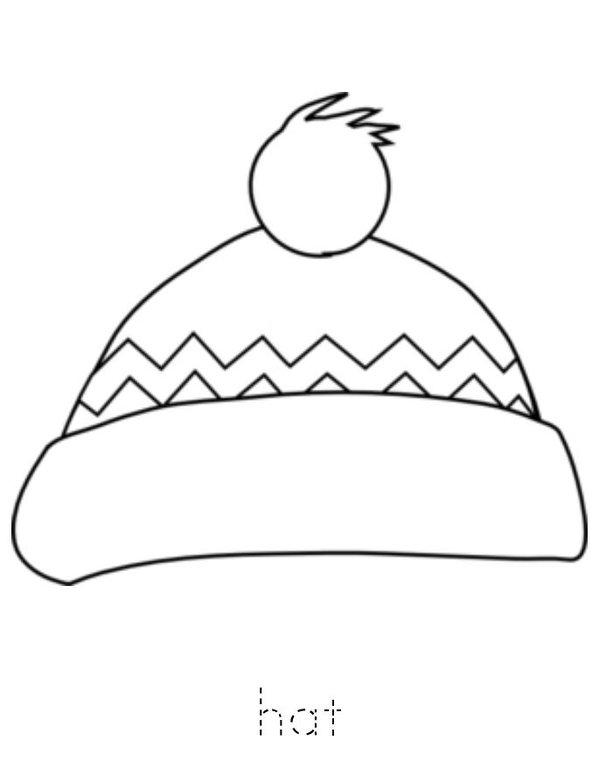 I Love Winter Mini Book - Sheet 4