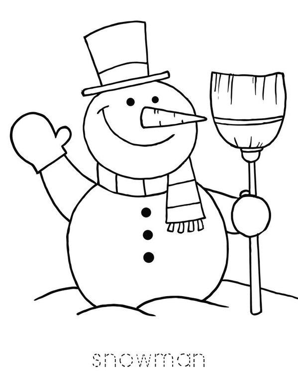 I Love Winter Mini Book - Sheet 6