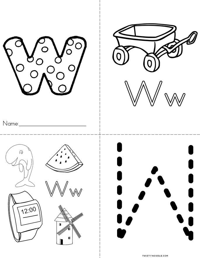 Twisty Noodle Coloring Pages Letters