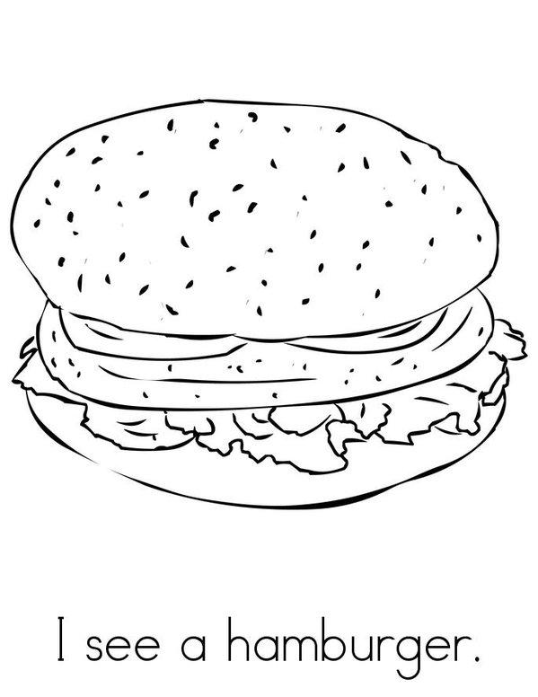 I see (food) Mini Book - Sheet 7