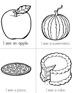 I see (food) Book