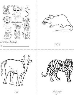 Chinese Zodiac Book
