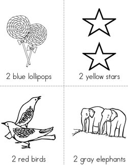 Color the Pairs Book