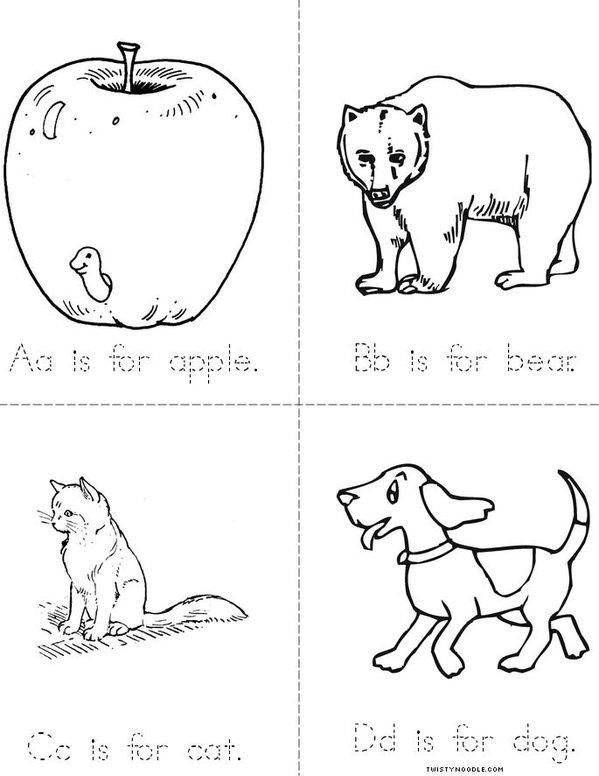 ABC's Mini Book
