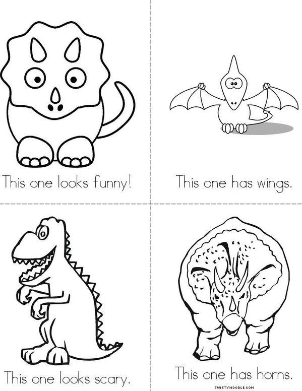 Dinosaurs! Mini Book