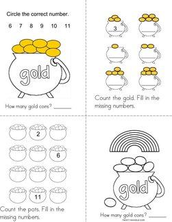 Leprechauns like gold! Book